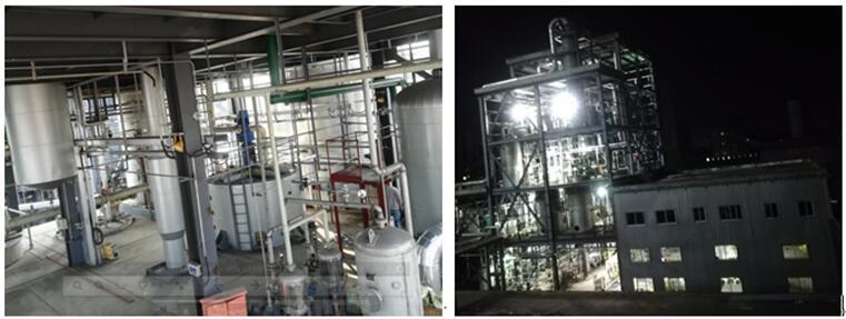 林州项目SO2资源化制焦亚硫酸钠项目一次开车成功