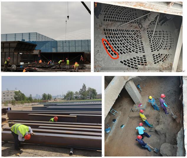 汇通3#炉新型半干法超低改造和SCR脱硝项目工程进展